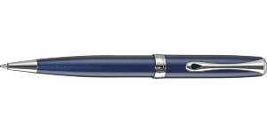 Ручка шариковая DIPLOMAT Midnight Blue Chrome